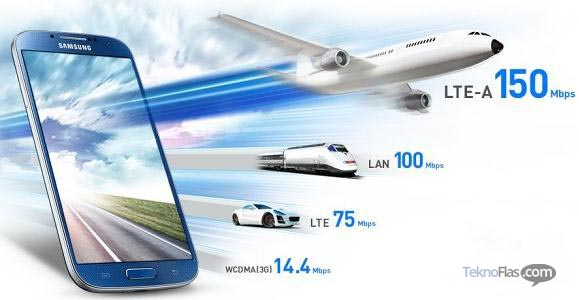 Samsung Galaxy S4 LTE-A Resmi Meluncur di Korea