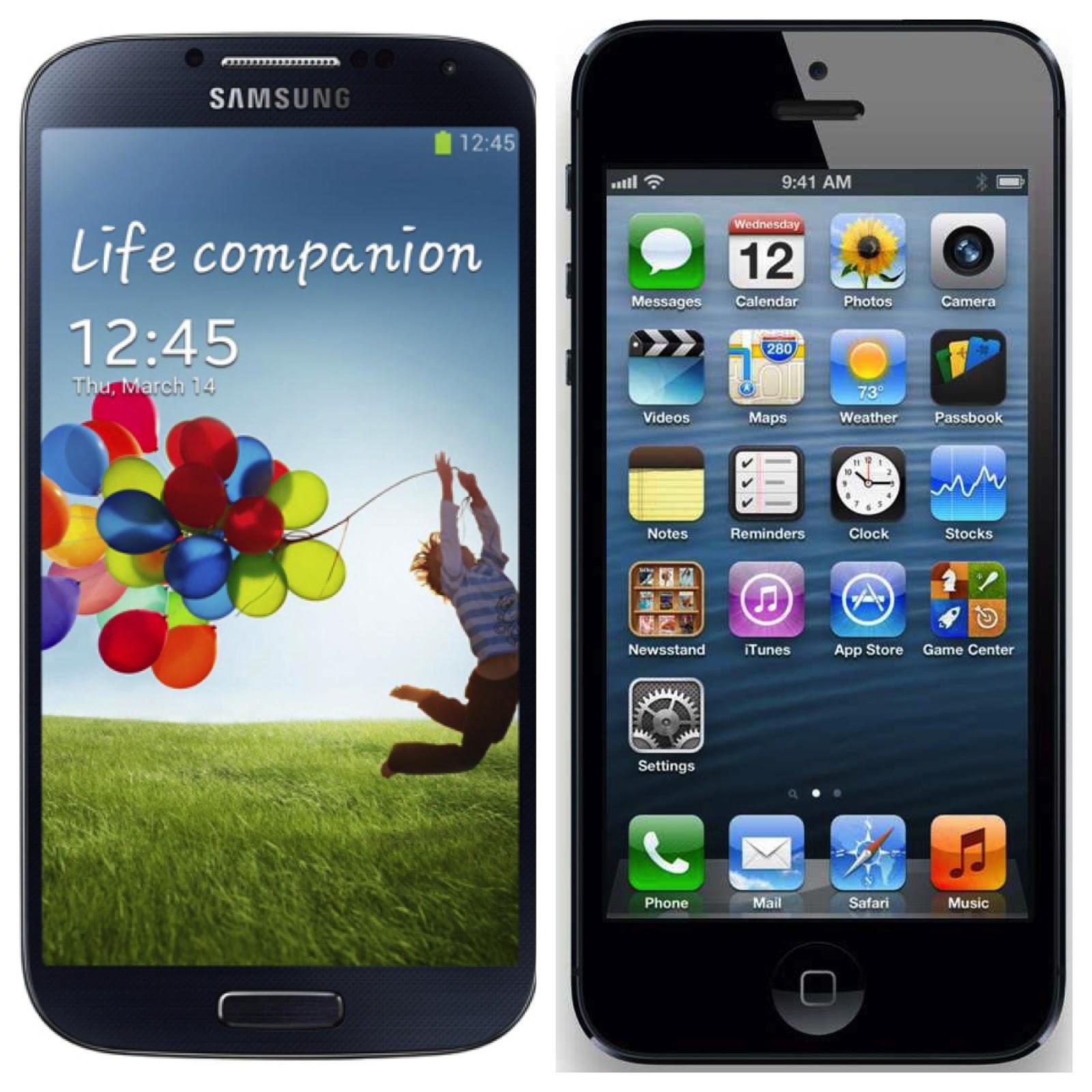Samsung Galaxy S4 Ungguli iPhone 5 di Amerika