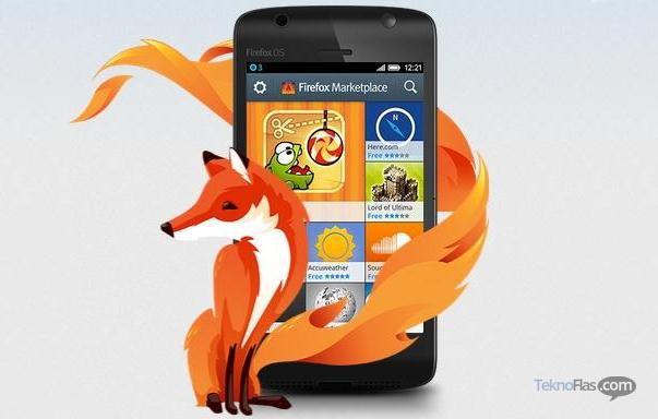 Smartphone Firefox OS tidak Akan Pakai Merk Mozilla