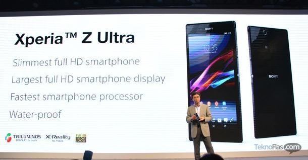 Sony Xperia Z Ultra Resmi Diperkenalkan dengan Layar 6,4 Inci