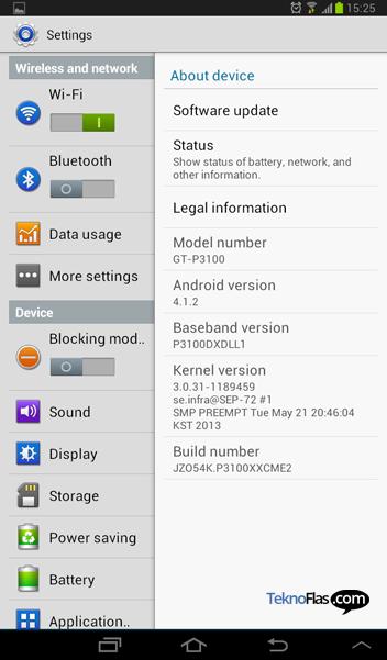 Update Jelly Bean Galaxy Tab 2 7