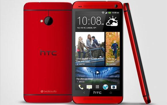 Warna Baru HTC One Glamour Red Resmi Dirilis