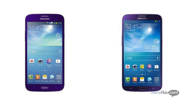 Warna baru Samsung Galaxy Mega akan segera hadir