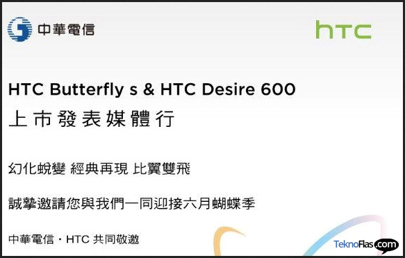 HTC Butterfly S Hadir Pertengahan Juni?