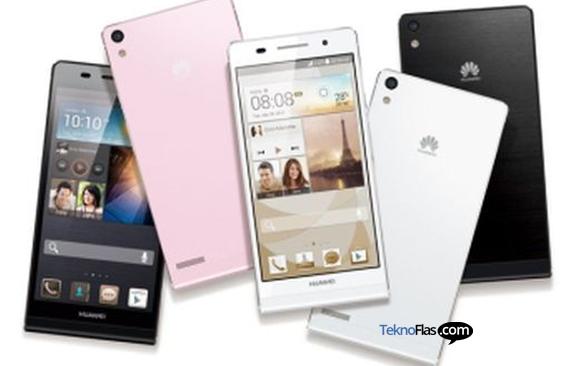 Huawei Ascend P6, Smartphone Tertipis di Dunia akan Terjual 10 Juta?