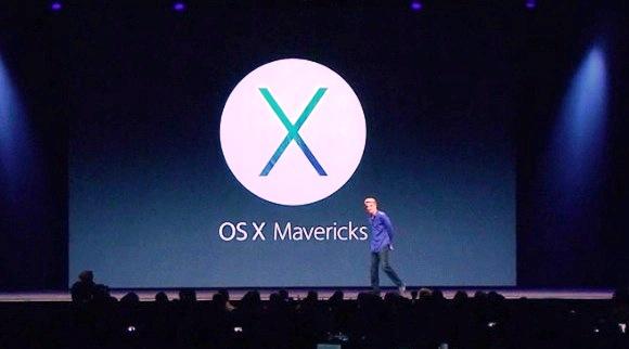 Mac OS X Mavericks, Nama Apple OS X Versi 10.9