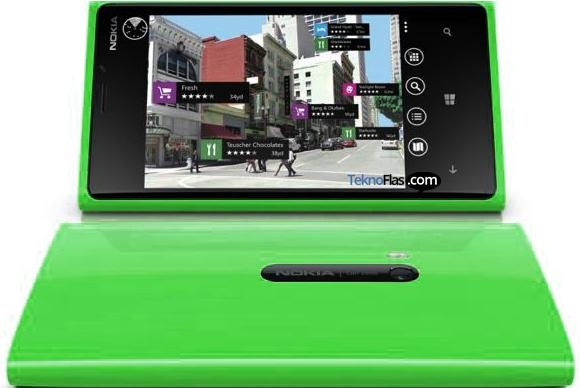 Nokia Lumia 920 Hadir dalam Warna Hijau