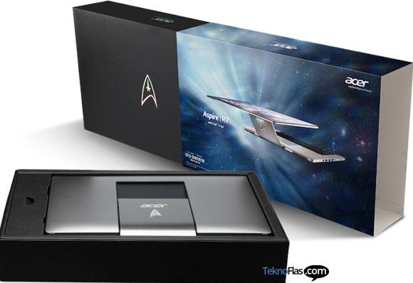 Notebook Acer Aspire R7 Star Trek Dijual untuk Kegiatan Amal