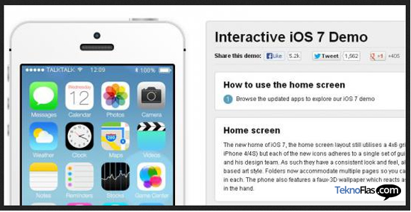 Recombu Hadirkan Demo Simulator iOS 7