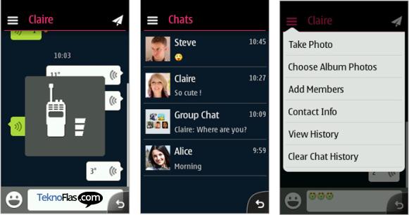 WeChat Tersedia di Smartphone Nokia Asha Touch