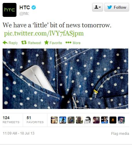 Benarkah HTC One Mini Dirilis Besok