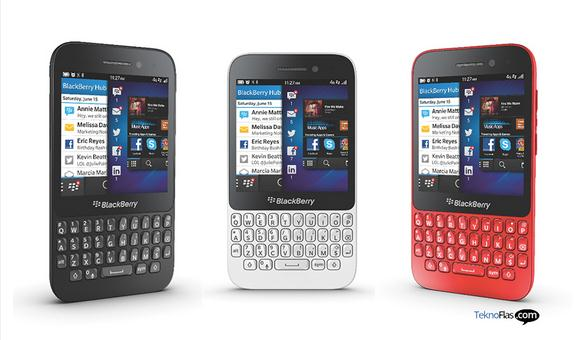 BlackBerry Q5 Resmi Dirilis di Jerman