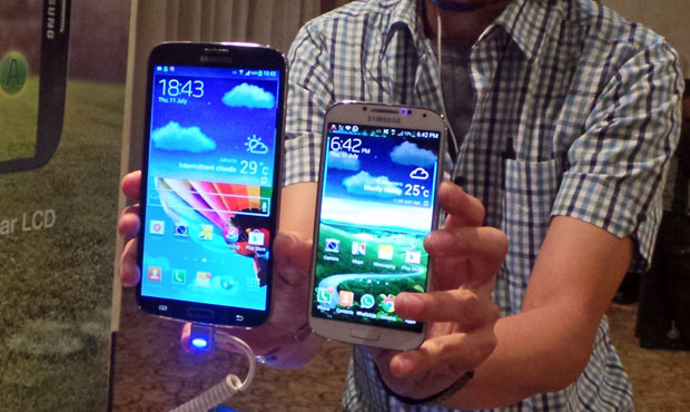 Harga Samsung Galaxy Mega Resmi di Indonesia 4.5 Jutaan