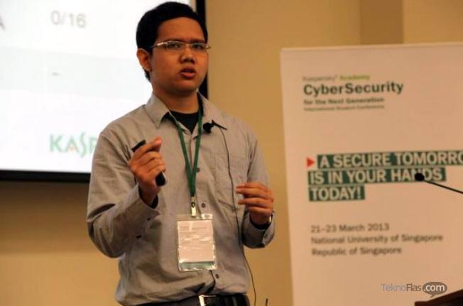 Inilah Firman Azhari, Juara Dunia Cyber Security