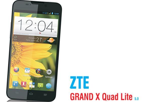 Inilah Spesifikasi ZTE Grand X Quad Lite