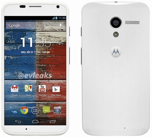Motorola Moto X Hadir Dengan Warna Putih