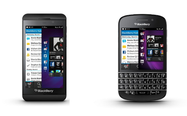Produksi BlackBerry Z10 dan Q10