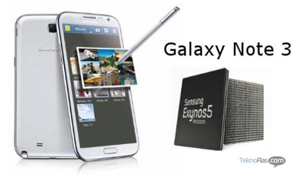 Samsung Galaxy Note III Akan Dibekali RAM 3GB