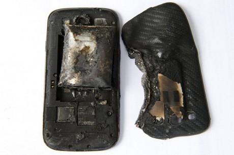 Samsung Galaxy S III Meledak