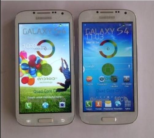 Samsung Galaxy S4 Asli Palsu