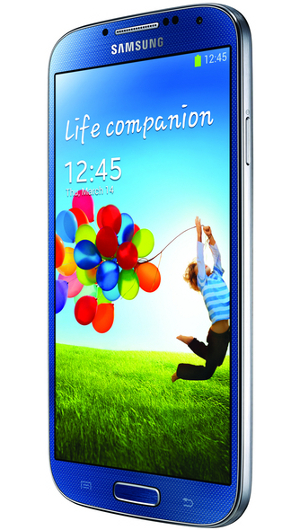 Samsung Galaxy S4 Warna Biru (Blue Artic)