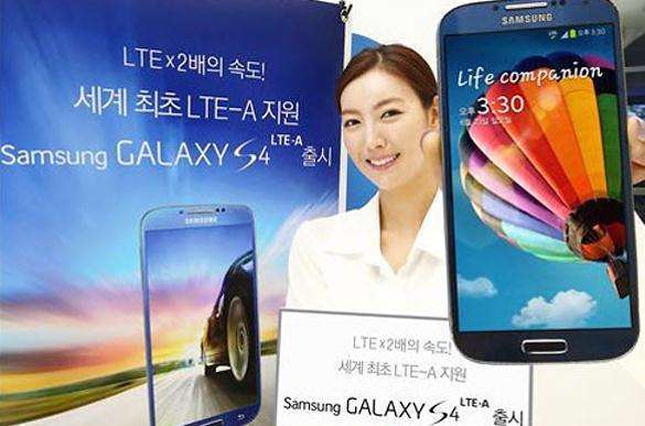 Samsung Kirim 150 Ribu Unit Galaxy S4 LTE-A di Korea