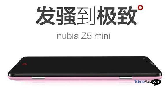 Inikah Spesifikasi Smartphone ZTE Nubia Z5 Mini?