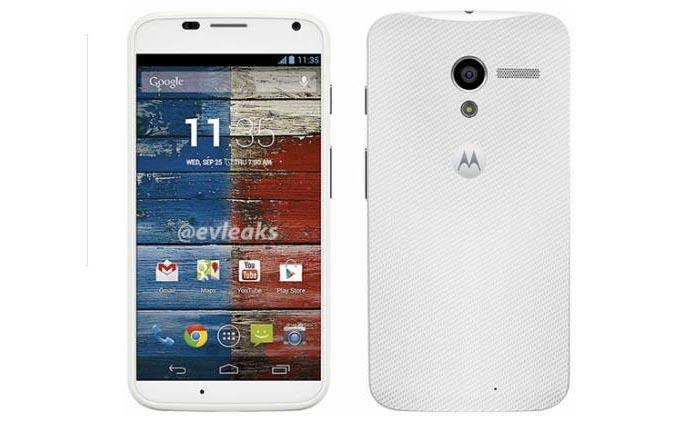inilah penampakan Motorola Moto X warna putih