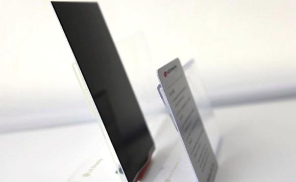 LG Luncurkan Layar Paling Tipis di Dunia, Tebal 2,2 mm