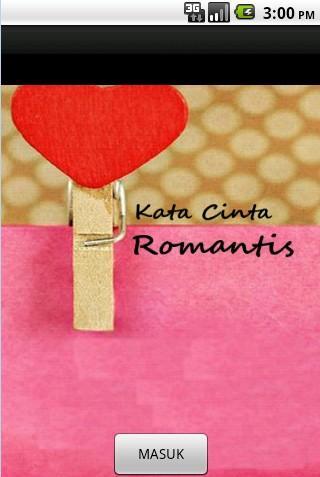 Aplikasi Kata Cinta Romantis