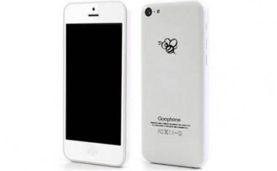 Goophone i5C, Kembaran iPhone 5C Dibanderol Rp 900 Ribuan