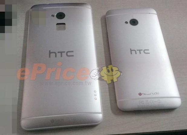 HTC one Max belakang