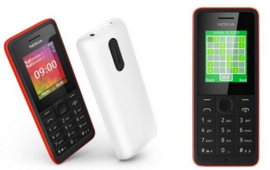Harga Nokia 106 dan 107 Dual-SIM Dibanderol Rp 200 Ribuan