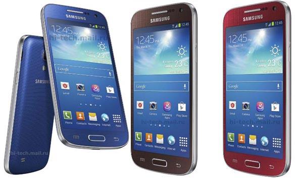 Inikah 3 Pilihan Warna Baru Galaxy S4 Mini