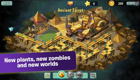 Inilah Video Tampilan Game Plants vs Zombie 2  iOS