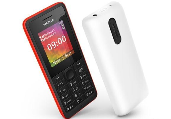 Nokia 106 dan 107 Dual-SIM Resmi Diluncurkan