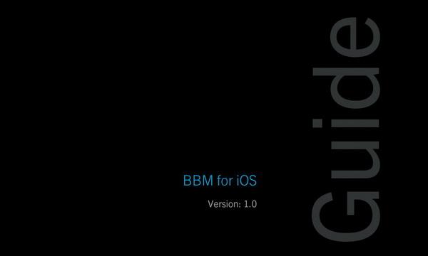 Panduan BBM untuk iOS dan Android [Download]