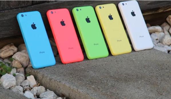 Video Lima Warna iPhone 5C Beredar