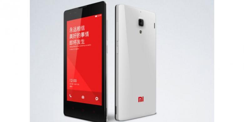 Xiaomi Red Rice, Ponsel Android Quad Core Harga Dibawah 1,5 Juta