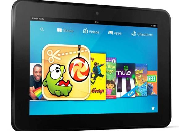 Akhir Tahun 2013, Tablet Amazon Kindle Fire HD Terbaru akan Diluncurkan?