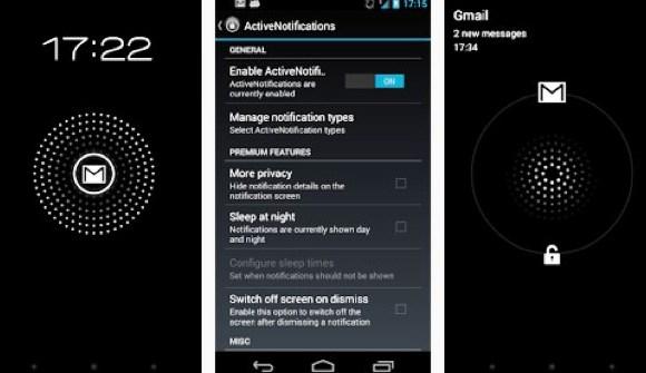 Aplikasi ActiveNotifications, Fitur Active Display untuk Smartphone Android