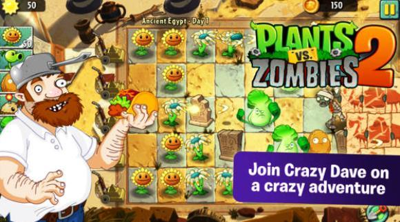Game Plants vs Zombies 2 untuk iOS Resmi Meluncur ke iTunes