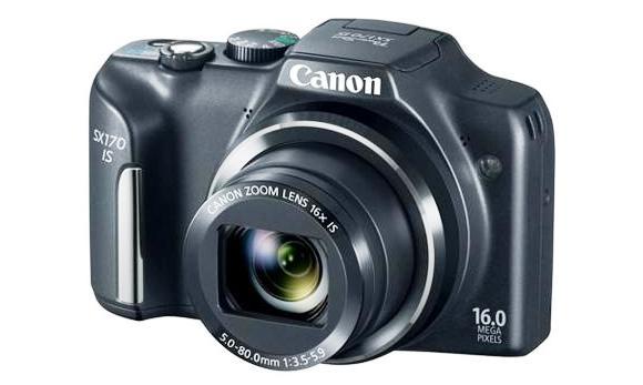 Harga Canon PowerShot SX170 IS Rp 1,8 Jutaan, Meluncur September Mendatang