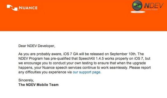 iOS 7 Akan Segera Meluncur Tanggal 10 September