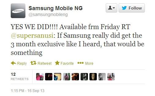 BBM For Android hanya untuk Samsung Galaxy