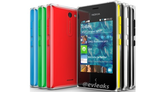Ini Dia Spesifikasi Nokia Asha 502 dan Asha 503