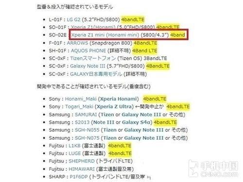 Bocoran Sony Xperia Z1