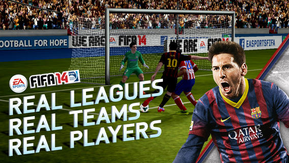 Download FIFA 14 for iOS & Android