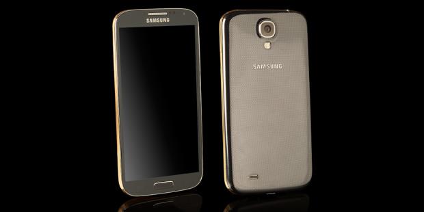 Galaxy S4 Gold meniru iPhone 5S