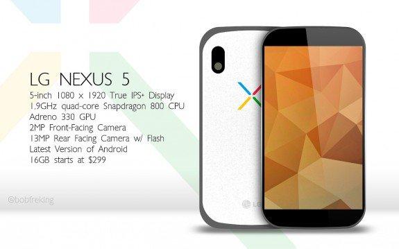 Google Nexus 5, Rilis 30 Oktober